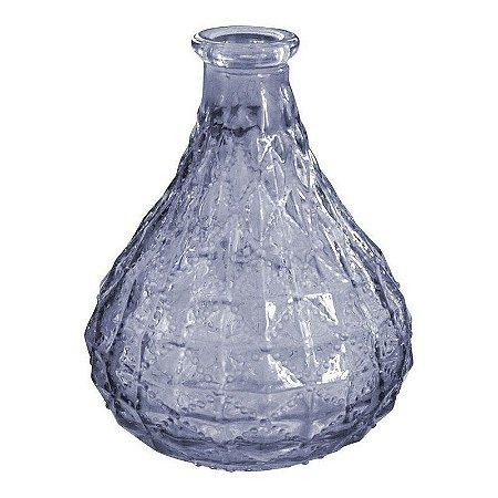 Vaso de Vidro Gota Roxo