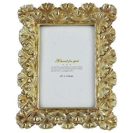 Porta Retrato Dourado Lummy