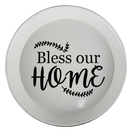 Bandeja em Metal Bless Our Home