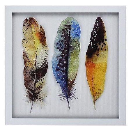 Quadro Branco Feather