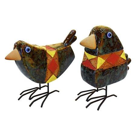 Jogo de Pássaro Geometrico