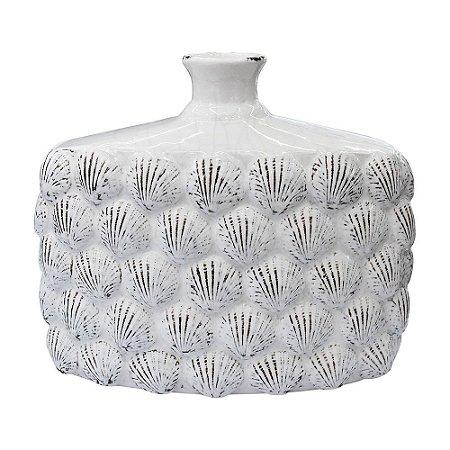 Vaso Infinity Concha Branco