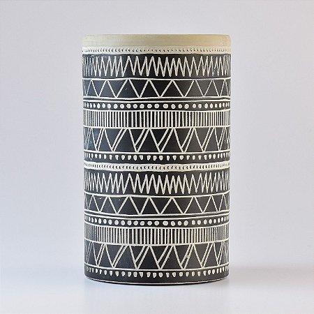 Vaso Stripes Africano