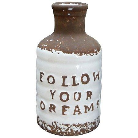 Garrafa Follow Your Dreams Branca