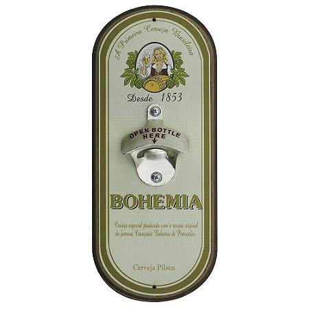 Abridor de Garrafa Oval Bohemia