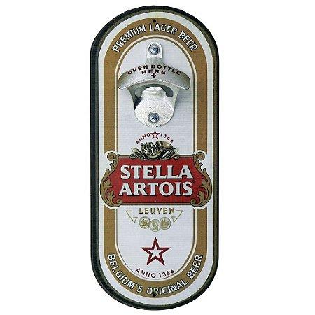 Abridor de Garrafa Oval Stella Artois