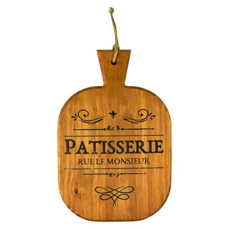 Tábua de madeira Patisserie