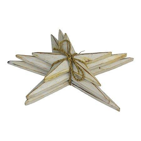Estrela do Mar Decor Mesa Branco