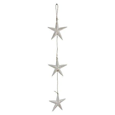 Pendente Estrela Branca
