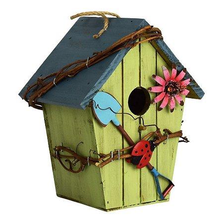 Casa de Pássaro de Madeira