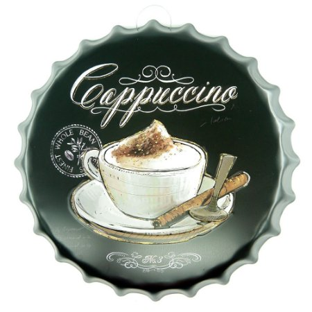 Enfeite Tampa Coffee Cappuccino