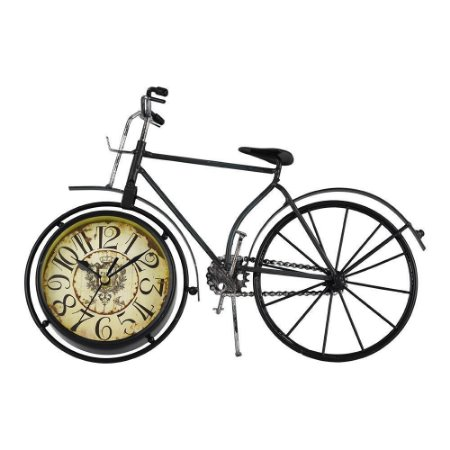 Relógio de Mesa Vintage Bicicleta