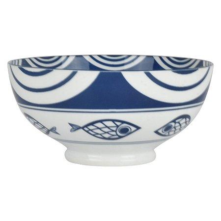 Bowl de Porcelana Peixes