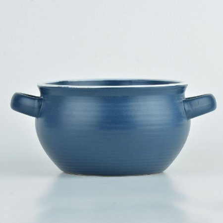 Bowl Cauldron Azul em Cerâmica