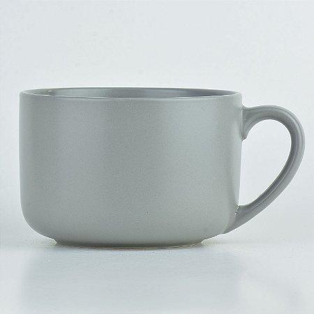 Bowl Caneca Cinza em Cerâmica