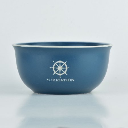 Tigela Náutica Azul Timão em Cerâmica
