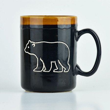 Caneca Urso em Cerâmica
