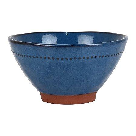 Bowl Supreme Azul Escuro em Cerâmica