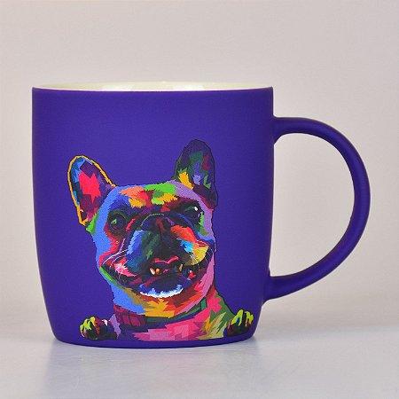 Caneca Cachorro em Cerâmica