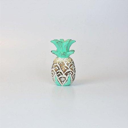 Abacaxi Decor Branco e Verde P