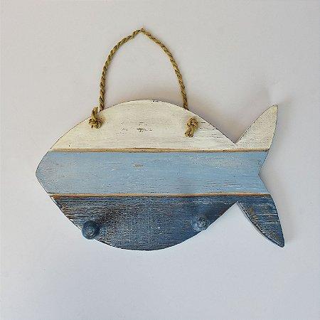 Cabideiro Peixe Azul
