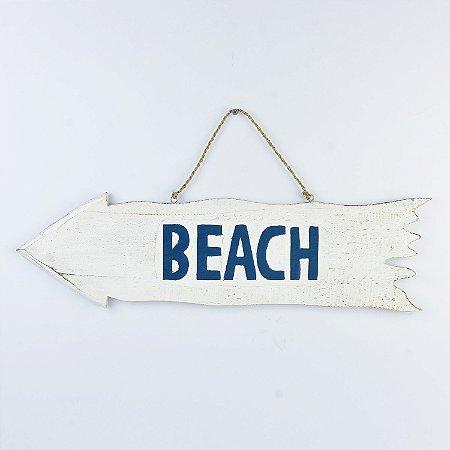 Placa Seta Beach Decor
