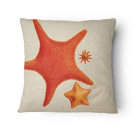 Almofada Náutica Estrela do Mar Orange