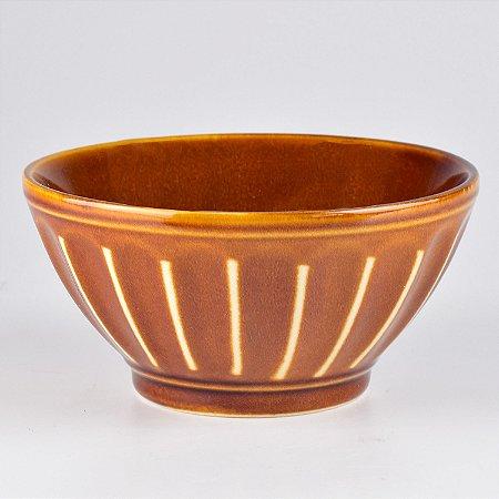 Bowl Line Marrom