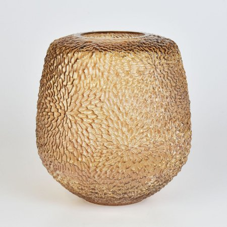 Vaso Nebraska Texturizado Marrom M
