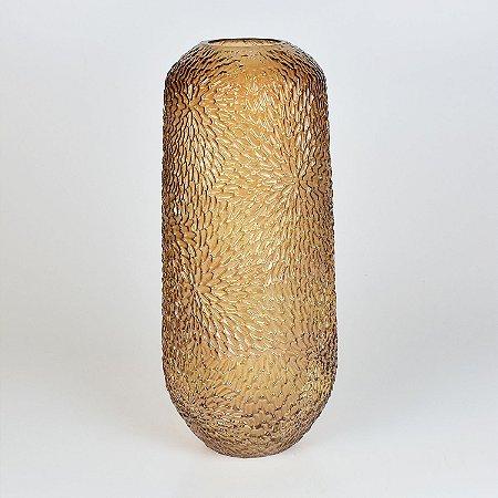Vaso Nebraska Texturizado Marrom G