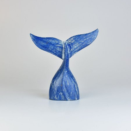 Enfeite Cauda de Baleia Azul P