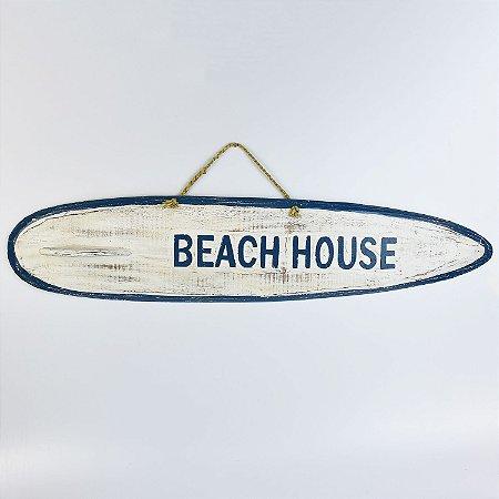 Prancha Beach House Branco e Azul G