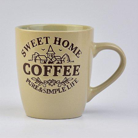 Caneca Creme Home Coffee
