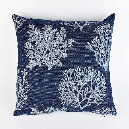 Almofada Coral Azul