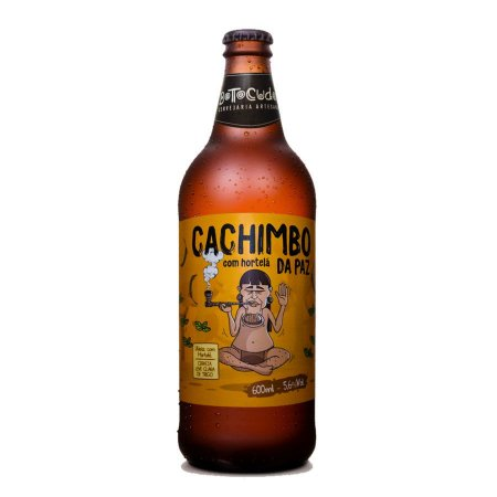 Cerveja Botocudos Cachimbo da Paz Weiss 600ml
