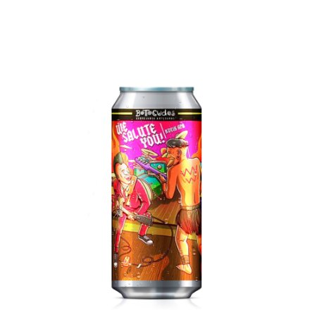 Cerveja Botocudos We Salute You American Pale Ale 473ml