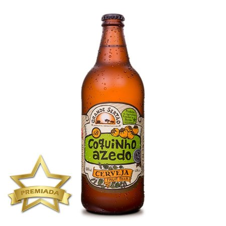 Cerveja Brüder Coquinho Azedo Fruit Beer 600ml