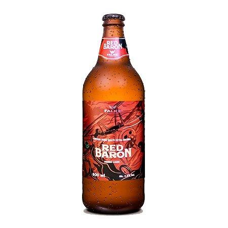 Cerveja Falke Red Baron Vienna Lager 600ml