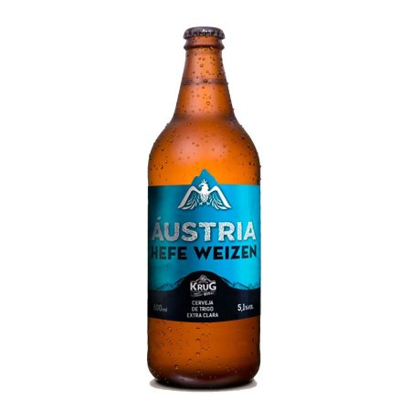 Cerveja Krug Austria Hefe Weizen 600ml