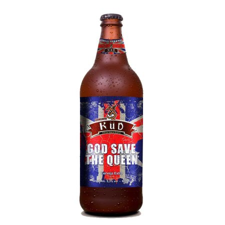Cerveja Küd God Save the Queen Pale Ale 600ml