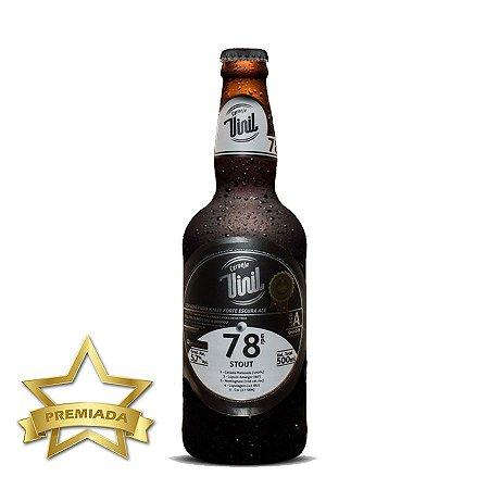 Cerveja Vinil 78 RPM Stout 500ml