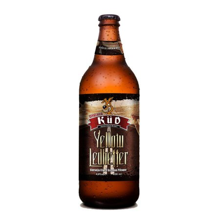 Cerveja Küd Yellow Ledbetter German Pilsner 600ml