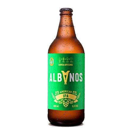 Cerveja Albanos American IPA 600ml