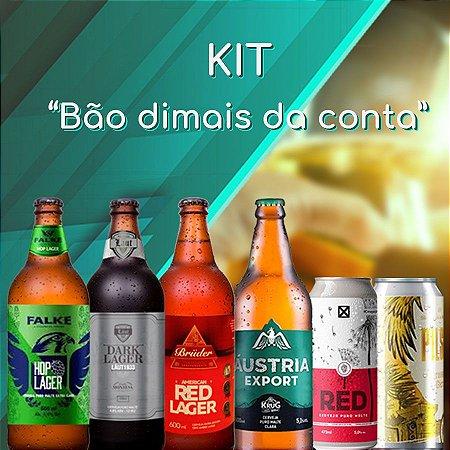 Kit Bão dimas da conta