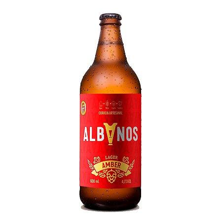 Cerveja Albanos Amber Lager 600ml