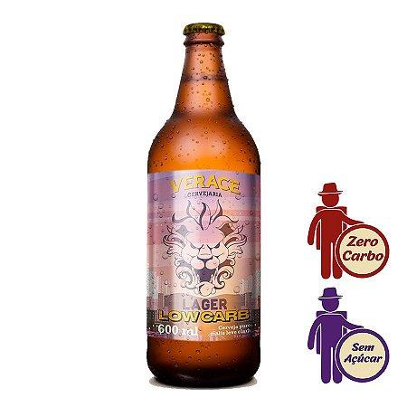 Cerveja Verace Lager Low Carb 600ml | Zero Carboidrato