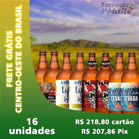 Kit Baixa Caloria 16 garrafas - Frete Grátis Centro-Oeste do Brasil