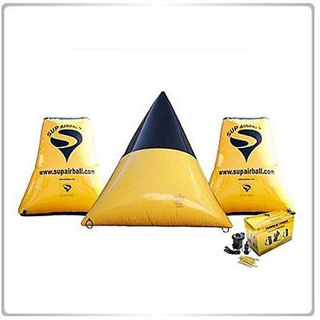 Kit  de Inflaveis p/ Campo Sup Air Ball (3 peças.)