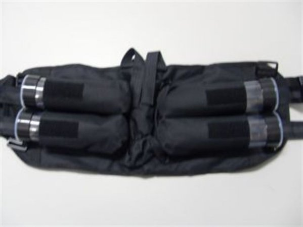 Cinto Harness 4+1 c/ 4 tubes 100 balas
