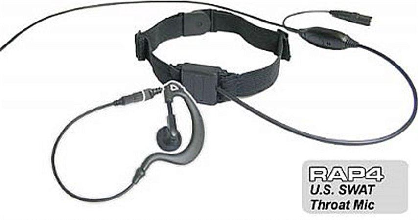 Microfone p/ Radio Modelo SWAT